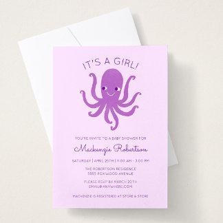 Smiling Octopus - Purple