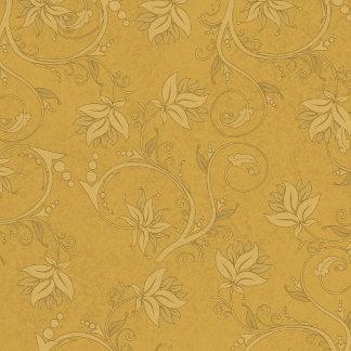 Damask Mustard Yellow 2