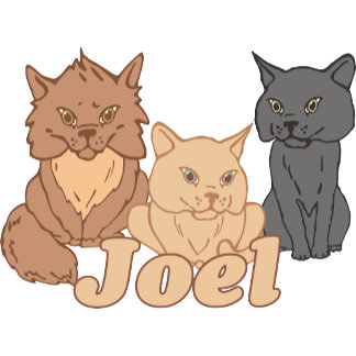 Personalized Joel Cat Lover