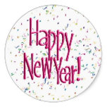 pink_happy_new_year_text_image_round_sticker-r067e