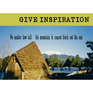 GIVE INSPIRATION