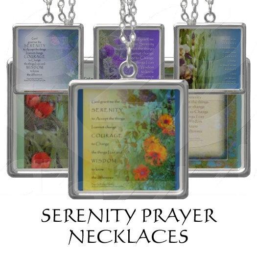 Serenity Prayer Necklaces