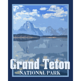 Grand Tetons Vintage Style