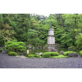 Japan, Kyoto, Scilent Stone Garden