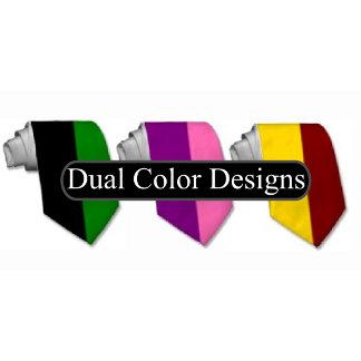 Dual Color Ties