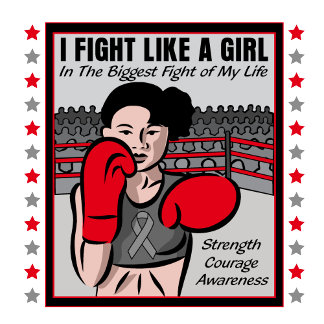 Brain Tumor I Fight Like A Girl Battle