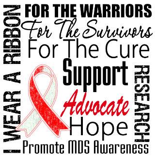 MDS Awareness I Wear a Ribbon Tribute