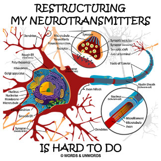 Restructuring My Neurotransmitters Is Hard To Do
