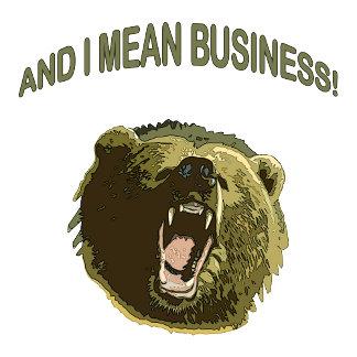 Mean Business Bear