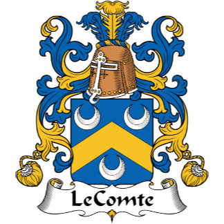 LeComte Family Crest