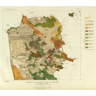 Geological map San Francisco