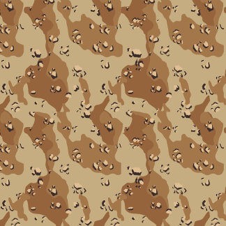 Military Desert Camouflage Background