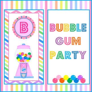 Bubble Gum Party