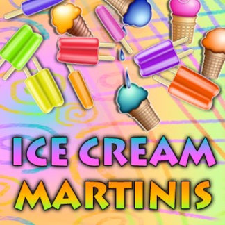 Ice Cream Martini Recipe Cards