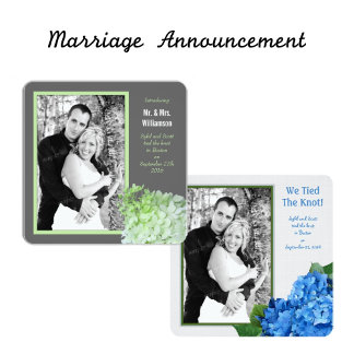 Marriage Announcement