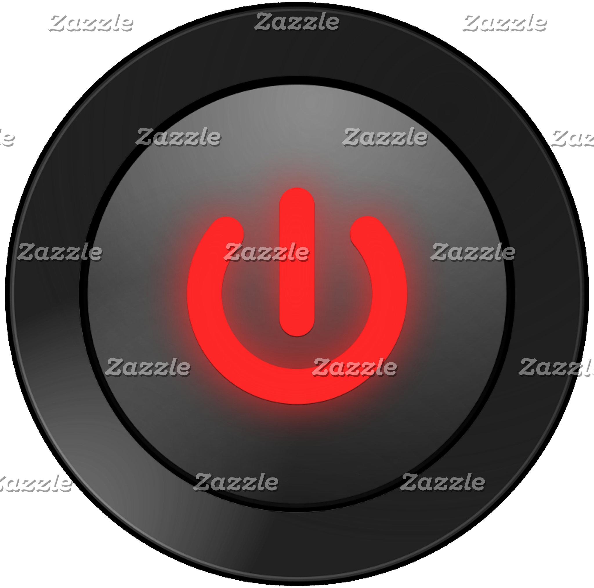 Power Button Off - Black
