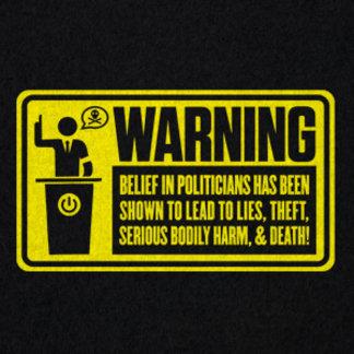 Politician Warning