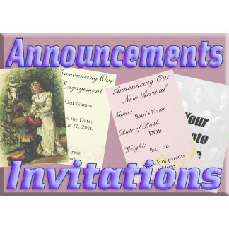 Announcements and Invitations