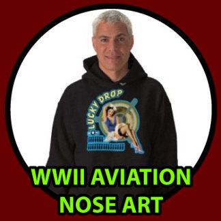 WWII Aviation Nose Art T-shirts