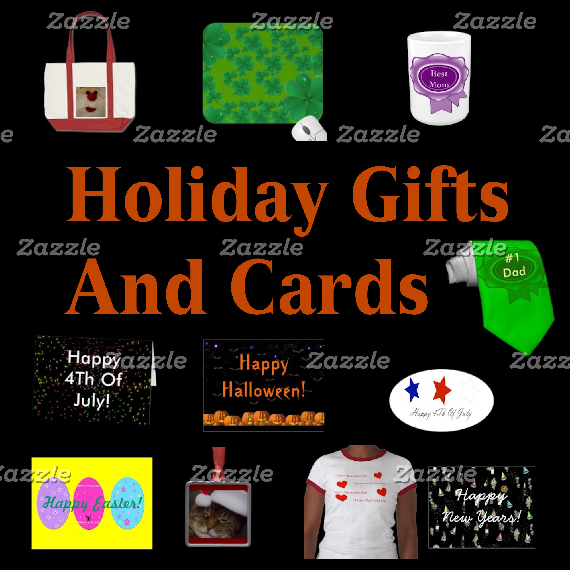 Holiday Gifts And Cards