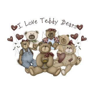 I Love Teddy Bears Heartsakes
