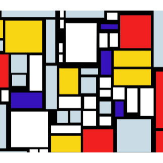 Primary Colors Squares and Rectangles