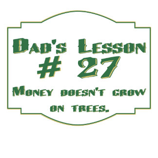 Dad's lesson #27 : Funny gifts for your father.