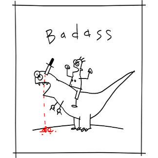 Badass Dinosaur Guy