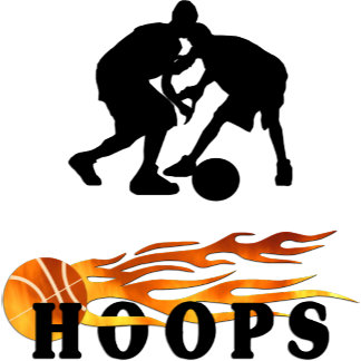 Flaming Basketball Hoops