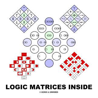 Logic Matrices Inside