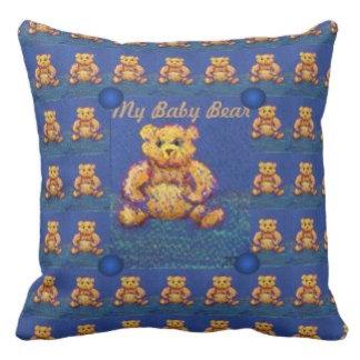 Blue Teddy Bear Honey Bear