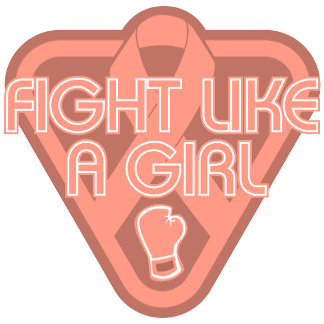 Endometrial Cancer Fight Like A Girl Glove