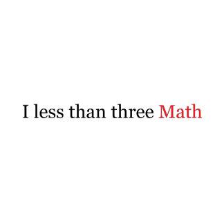 I Less Than Three Math