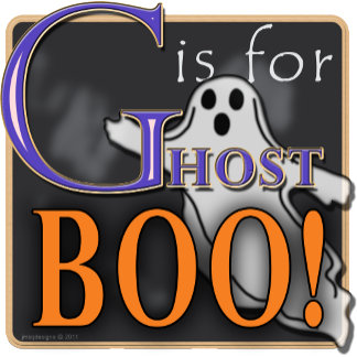 G Is For Ghost BOO!