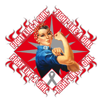 Brain Cancer Fight Rosie The Riveter
