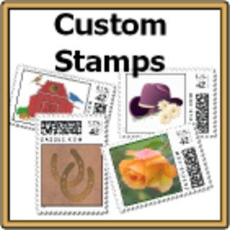 * CUSTOM Designer POSTAGE Stamps