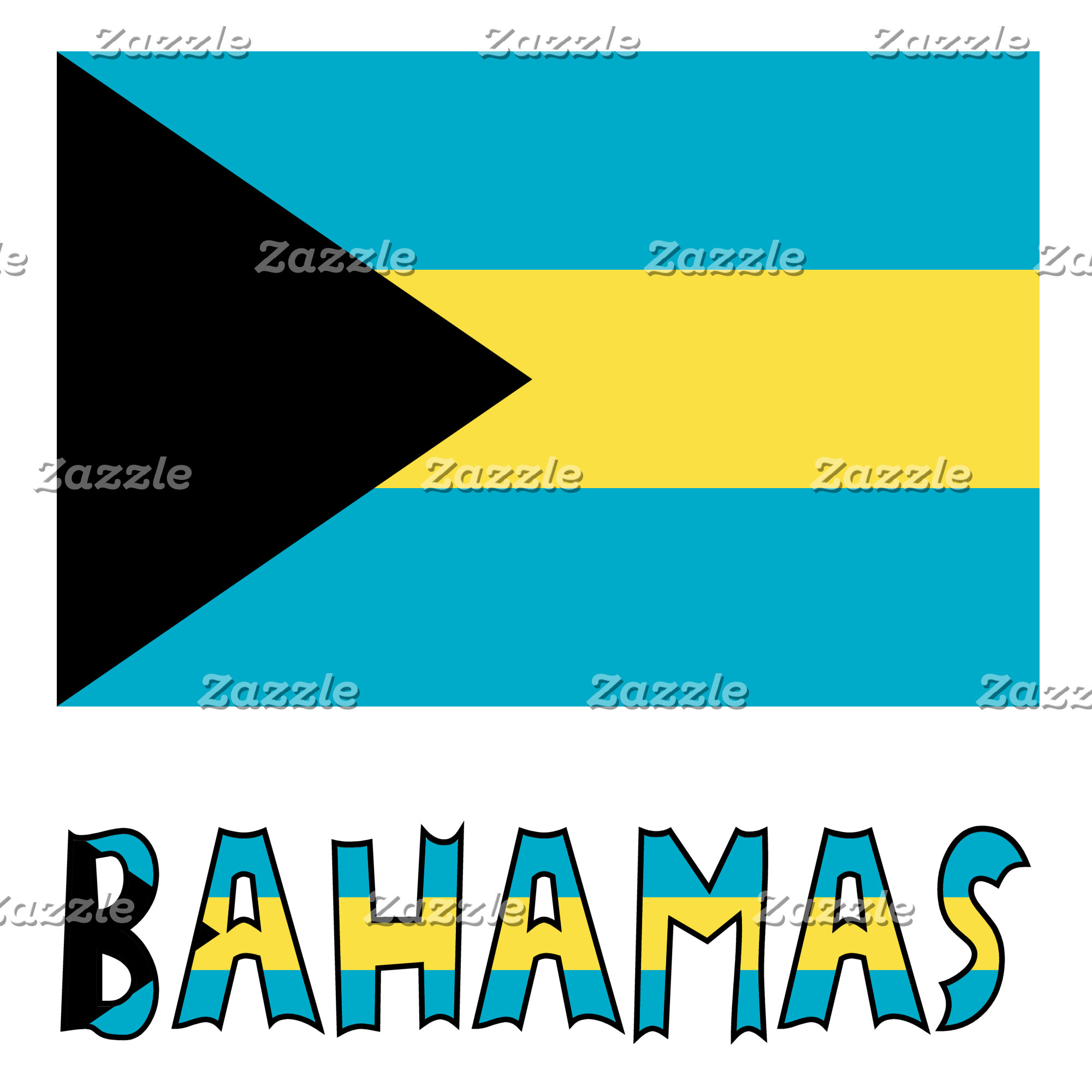 Bahaman Flag and Bahamas