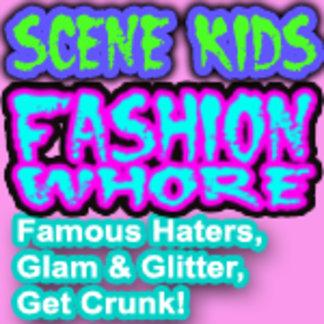 SCENE KID shirts | GLAM shirts | CRUNK shirts