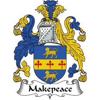 Makepeace Family Crest