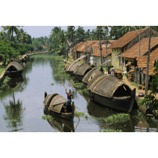 Alleppey, India.
