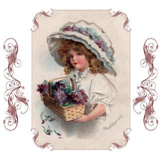 Girl in Bonnet by Ellen Clapsaddle