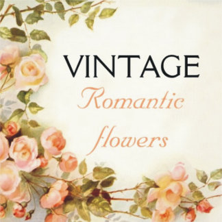 Vintage romantic flowers