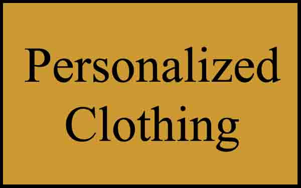 Personalized Clothing