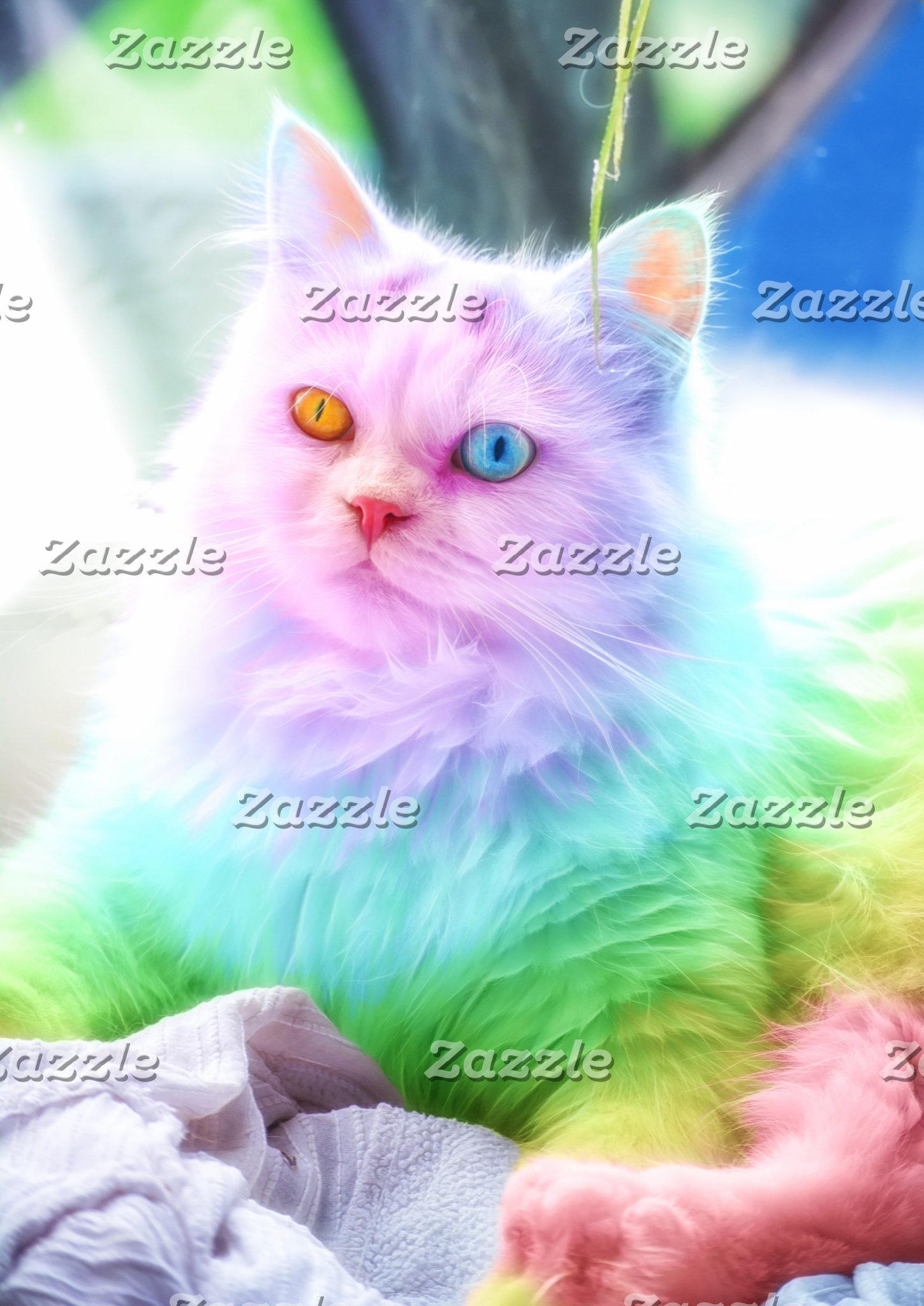 Unicorn Rainbow Cat