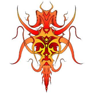 Demon Tribal Tattoo