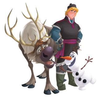 Sven, Olaf and Kristoff
