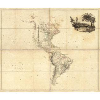 Map of America by A Arrowsmith