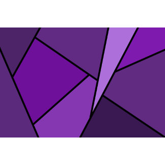 Abstract Purple Polygons