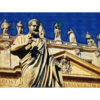 Italy St Peter's Square Rome Decor, Gifts, Accents