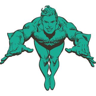 Aquaman Lunging Forward - Teal